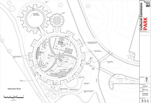Technical Architectural Site Plan